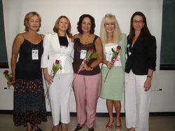 Congresso Qualidade de Vida - Unifesp / 2007 - Ao meu lado direito, nova parceira e amiga Dra. Rita D'Angelo Seixas