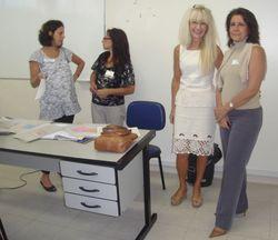 Vistoria ABEP / CEPPS - Reunião das auditorias com a supervisora Heidi / Hospital Sanatorinhos -  25.04.08