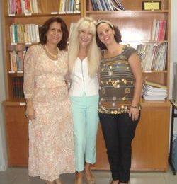 Vistoria da ABEP / CEPPS / 24.04.08 - Auditoras Dra. Maria Theresa e Dra. Cristiane