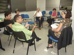 Vistoria ABEP / CEPPS - Reunião com parte do corpo docente - 24.04.08