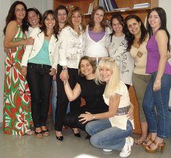 Turma de Pós-Graduação com a Profa. Dra. Denise Pará Diniz - 09/11/08