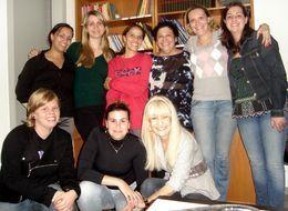 Alunas da IX Especialização em PsicologiaHospitalar - Agosto/2010