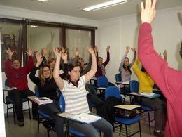 Aula de Gerontologia - Dança Senior -  IX Especialização em Psicologia Hospitalar - Set/2010
