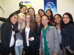 Entrevista para estudantes de Jornalismo da UNISA, no Canal 11 TV Universitária, em 21/09/10